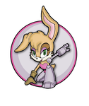 Sonic Channel Bunnie Rabbot by E-122-Psi