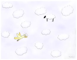 sheeps go to heaven, wolves... by tchago84