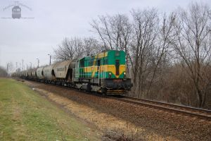 740 148 with a freight train near Gyorszabadhegy by morpheus880223