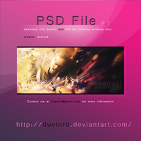 .AD  Pulling me down Tag PSD by duelord