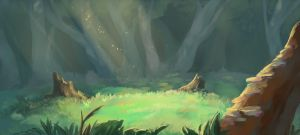 forest by morteraphan