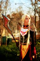 Blood Elf Paladin from World of Warcraft by OptimusProduction