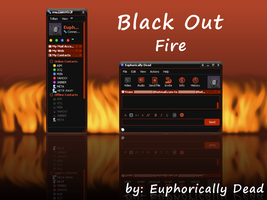 Black Out: Fire by euphoricallydead