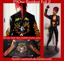 RE2 Alternate Outfit Claire Redfield Cosplay WIP by Hamm-Sammich