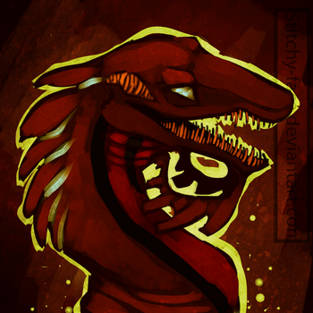The Grinning Demon by Stitchy-Face