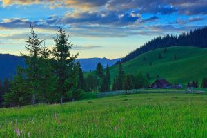 Sunset in Bukovina by lica20