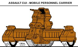 My own version of Cui a Personnel Carrier by archaznable30