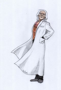 Doc Brown by Smeha