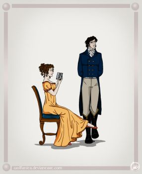 Pride and Prejudice by wolfanita