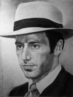 Al Pacino as Michael Corleone by otong666