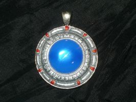 The Stargate - handsculpted Miniature Pendant by Ganjamira