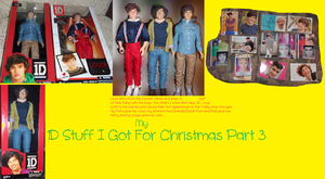 My 1D Stuff I Got For Christmas Part 3 by iluvlouis