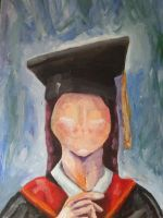 A faceless graduate by MrSparkles10