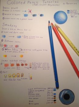 Colored pencil tutorial by Marilein-art