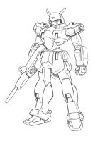 Mecha redesign Durandall by Darcad