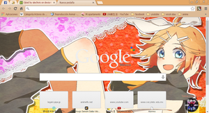 Rin theme google chrome by alechivis