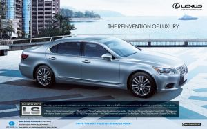 lexus ls ad by myworks