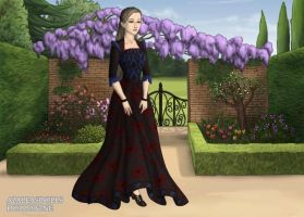 Me in renaissance theme by DemonSheyd500025