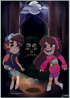 Gravity Falls by cam070