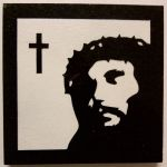 Jesus Thorny Crown Coaster by ckatt01
