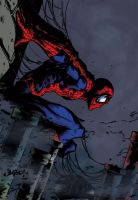 Spider-man Colour by pinnedup