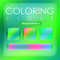 Coloring Light - Degradados by FeelTheLights