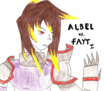 Albel vs. Fayt I - Back Cover. by MrsNox