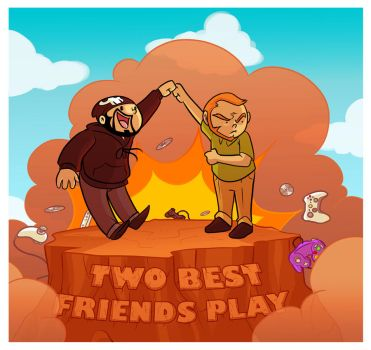 Two Best Friends Play by OhSadface