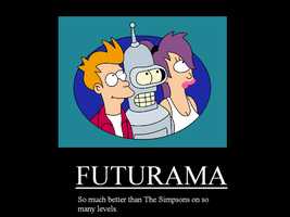 Futurama Motviational Poster by KevGamer