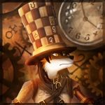 hattress- alice madness furry version by Riggs-Schroud