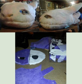Youma Cosplay Progress by GlitterFox