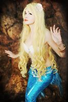 Blue Mermaid by Usagi-Tsukino-krv