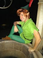 Peter Pan Cosplay at Disneyland for Halloween by Chingrish