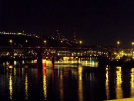 Pittsburgh at Night 01 by MorganCG