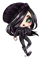 Lydia - Chibi commission by clover-teapot