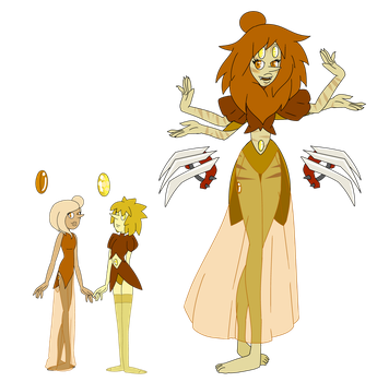 SU pearl fusion LIONS MANE PEARL adopt CLOSED by SmilesUpsideDown
