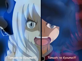 Two Girls, One Soul, One Heart: Tamashi no Kyoumei by Jusace