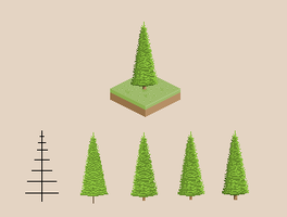 Simple Tree Practice by vanmall