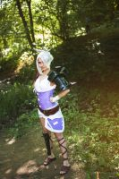 Riven. The Exile (LEAGUE OF LEGENDS) [8] by Akaomy