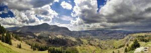 Carpathians Panorama by Alex230