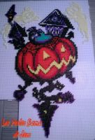 Halloween Town from Kingdom Hearts Chain Memories by barteletjess