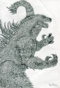 Legendary Pictures Godzilla by Kongzilla2010