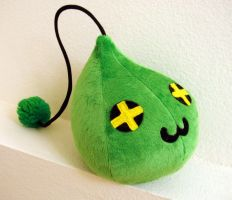 MapleStory Plush Slime 1 by TheCurseofRainbow