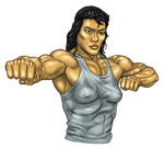 muscle puncher by rogue-freighter