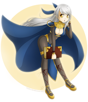 Commission: Micaiah by padfootlet
