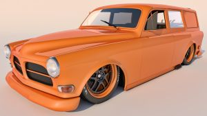 1961 Volvo Amazon Wagon by SamCurry