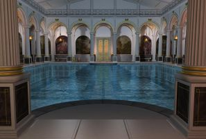 Roman bath 1 by indigodeep
