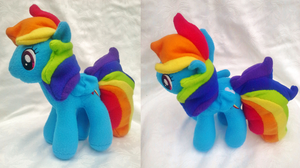 RainbowDash - Pony Plush - Commission by Sparkle-And-Sunshine