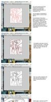 Photoshop Coloring Tutorial 1 by YamiRedPen