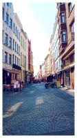 walking along the streets by ntscha